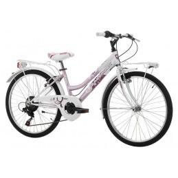 """Bici 24"""" Cinzia Daisy 6v"""