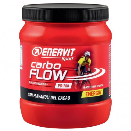 Enervit Carbo Flow 400g gusto Cacao