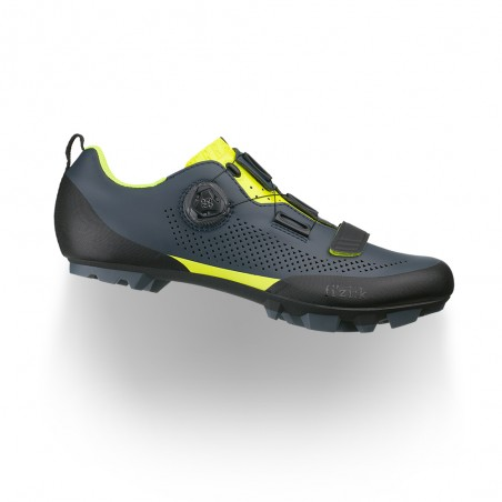 Scarpe Fizik Terra X5 Grey - Yellow Fluo