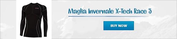 Maglia Invernale X-Tech Race 3